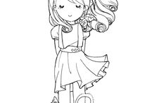 Coloring Pages / by Jocelyn Christensen