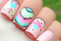 nails. / nail art. / by ☼stephanie ocampo☾