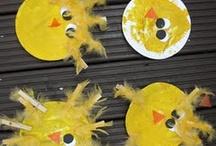 Toddler Crafts and F.U.N Ideas! / by Jodi Bernard