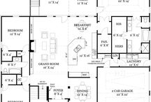 Floor plans / by Tammy Welter