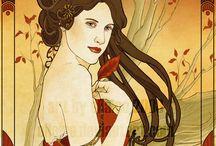 Art Nouveau LOVE / by Angela Fehr