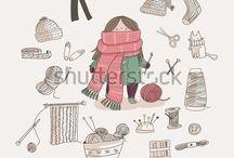 Knitting random / by Lisa Chemery