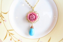 My Etsy Vintage Inspired Necklaces / by Mona Abraham (4Everinstyle)