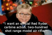 A Christmas Story Quotes!! / by kay mccarson