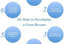 Resumes for teaching positions / by Sharon McGilvra