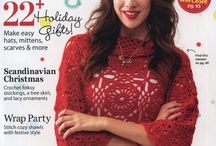 magazines knit and crochet / by Saima