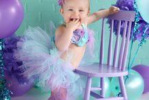 Aubrey's 3rd birthday little mermaid / by Monique Broussard