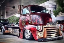 Awesome big rigs! / by Adam Hair