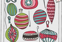 Holiday Happiness / Holiday decor...It's a jolly holiday!!! / by Charley Harold | Dear Charley Designs