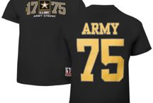Military T-Shirts Jerseys / by PriorService.com