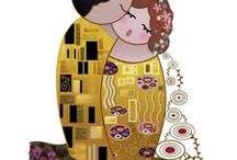 mis próximas pinturas, con pincel o con aguja / by Ana Maria Garcia Carrasco