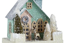 Christmas houses & Stockings / by Shelly Krueger