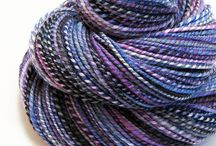 Hand Spun Yarns I Covet / Lovely hand spun yarns from small businesses.  I want them all! / by Indigo Kitty Knits