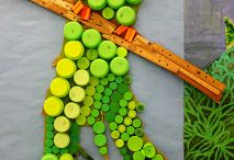Recycled Art Ideas / Projects that are using recycled materials / by Danielle Scholfield