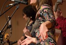 Rani Arbo and daisy mayhem / These pictures are from Feb. 22, 2014. / by Redfern Arts Center at Keene State College