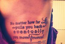 Cool tattoos / by Destiny Valencia