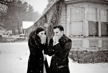 snow photo ideas / by Jessica Rep