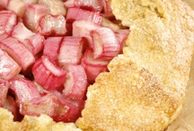 Rhubarb recipes / Sweet and savory ways to cook rhubarb / by Seacoast Eat Local
