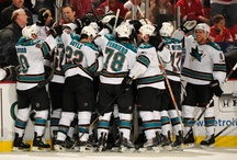 San Jose Sharks / I went to my first game at ten years old. I don't think my parents understood at the time what they we're getting themselves into. What came from that night was a girl completely taken with the game. San Jose all day.  / by Jessica Yoshida