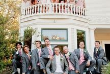 grooms + groomsmen / by Ashley @ Heart Over Heels
