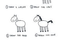 How to draw... / by Julie (Libélula)