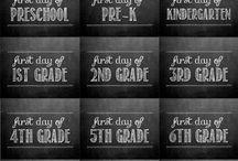 Kids: The School Years / by Rachel Lacy (Following In My Shoes)