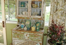 Cabinets Cupboards  / by Linda Riedell