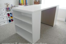 Crafting Room / Ideas for a craft room in the future!! / by Melissa Jackson