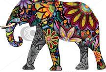 elephants :) / by hope edlebeck