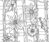 Coloring Pages - Nature / by Doodle Art Alley