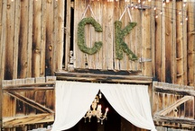 Rustic/Antique Tent Wedding / by Teri McCort