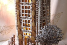 Gingerbread houses wow / by Lana Bartolott