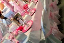 Mia's first communion party ideas : )  / by Evelyn Jaime
