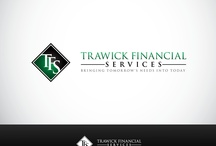 Financial Services logos / by ZillionDesigns.com (formerly MycroBurst)