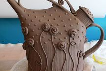 Ceramics - teapot / by Clevell Koon