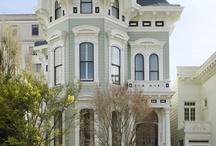 San Francisco Victorian Homes / by Monique Chilelli