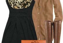 outfits with boots / by Emma Marziello