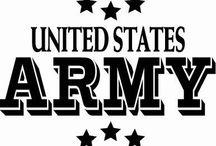 Army Stuff / by Aubrey Weaver