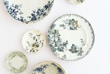 Vintage Plates / by Highberry Dew