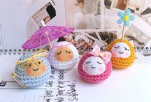 Crochet - poupées, jouets / by Nanou Huberschwiller