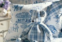 Toile de Jouy I ♥ / by The Mouse House