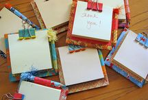 Notepad & Post it Notes ideas / by Liza Murphy