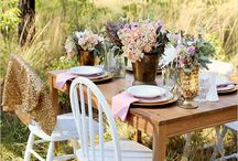 Wedding Table Ideas / by Diana Virgie