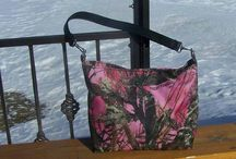 camo bags/totes/ purses / by Pistol Packin' Pretties