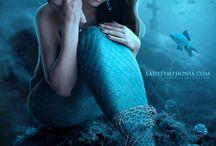 Fantasy -- Sirenas  / by Jeannette Ortega