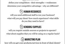 Business and Marketing / by Connie Sawatzky