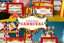 circus celebration / A Fair, Circus, or Carnival - This board has all the inspirations for a whimsical event #birthdayparty #babyshower / by Baby Aspen