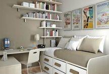 Home/bedroom ideas / by Flor Moran
