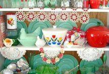 Vintage Kitchen / by Heidi Nelson