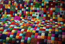 Granny Square Afghans / by Cora Shaw